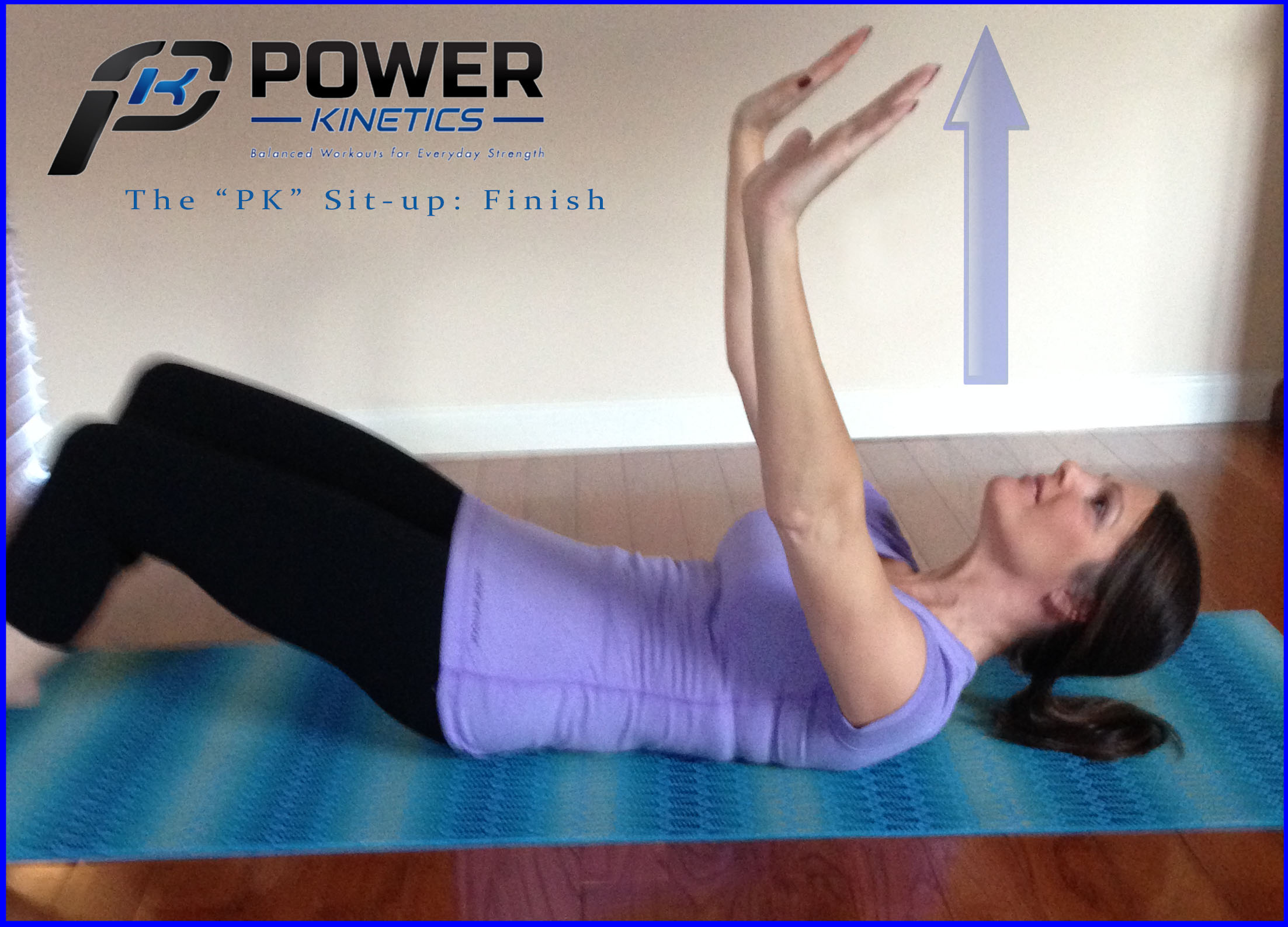 The Power Kinetics abdominal exercise. Step 1—Part 2