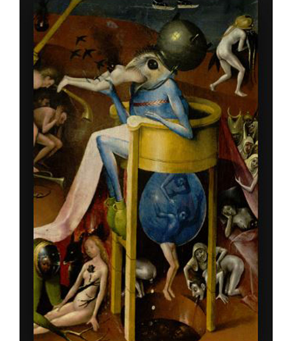 """Detail - """"Garden of Earthly Delights"""" Hieronymous Bosch c. 1504"""