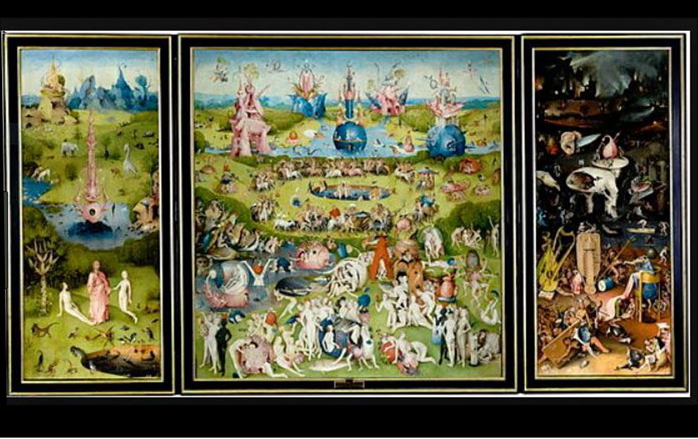 "Hieronymous Bosch ""Garden of Earthly Delights"" C. 1504"