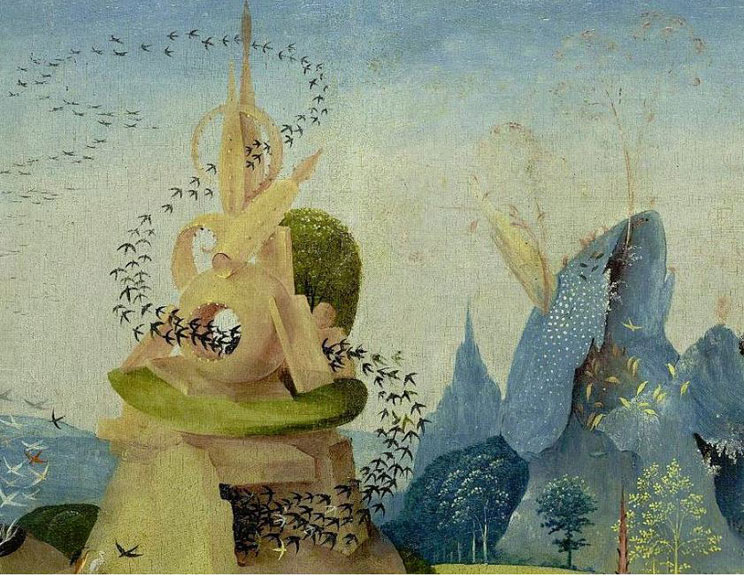 """A pastoral portion of """"Garden of Earthly Delights"""""""
