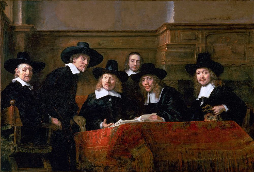 Rembrandt: Syndic of the drapers guild