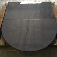 Polished Welsh slate