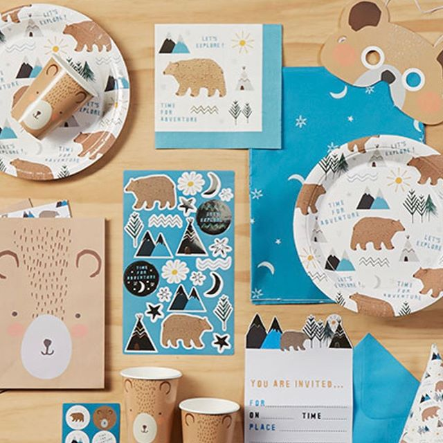 Loving the new camping inspired range from @spotlightstores - the perfect addition to our In the Wild theme! Bookings are filling fast so don't miss out! www.teepeedreams.com.au