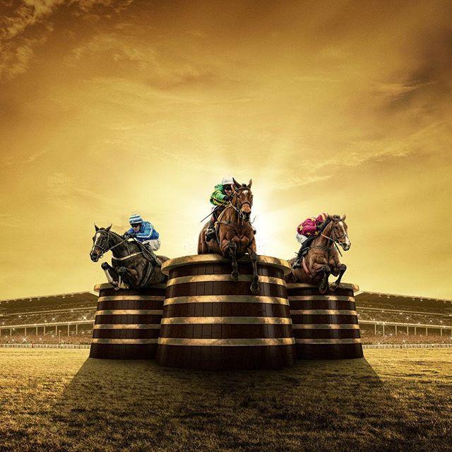 Cheltenham 2019 begins today #Cheltenham #RoadToGold #horseracing #retouching #photoshop