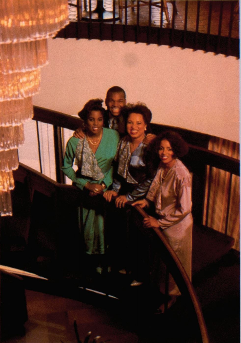 The Nelson Family - Charrisse Nelson, paul n. Nelson jr, dr. Charlene neslon, and their beautiful mother.(1986)