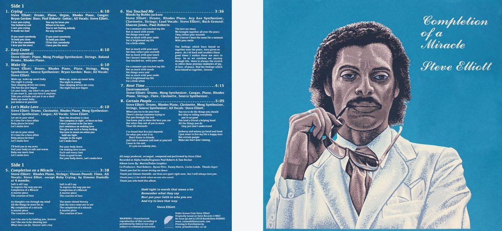 RSR005 Steve Elliott - Completion Of A Miracle LP cover.JPG
