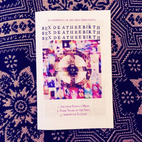 SDR Zine Anthology - A collection of content of all the previous editions. It included all the download codes for all the music as well.