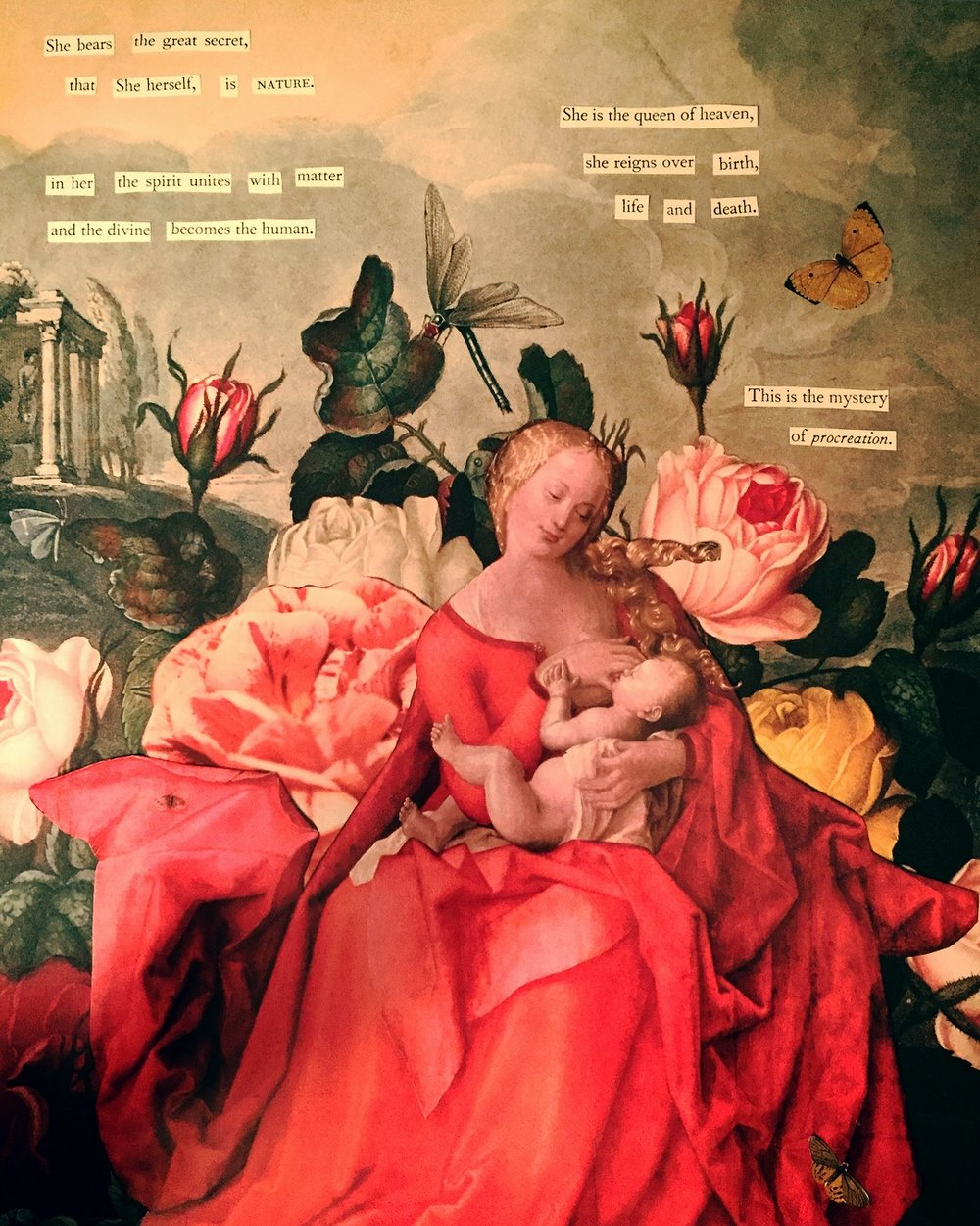The Mystery of Procreation by Joan Pope (sexdeathrebirth)