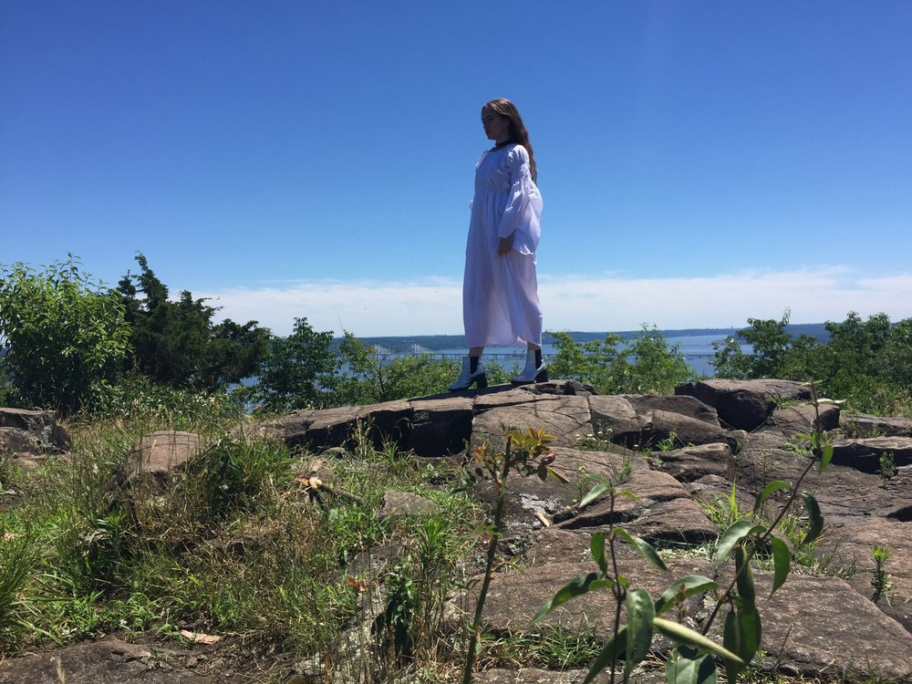Priestess On The Edge of Time... Joan Pope at Hook Mountain