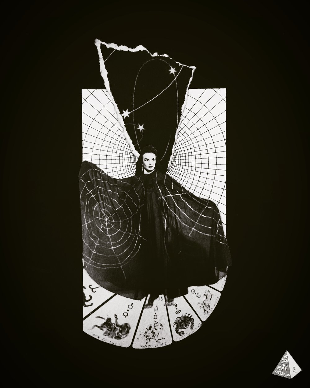 Stars Aligned, Web Spun by Joan Pope (temple ov saturn)
