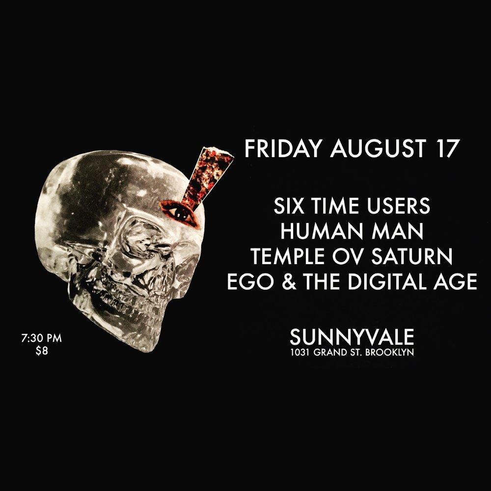 Temple ov Saturn at Sunnyvale on August 17, 2018
