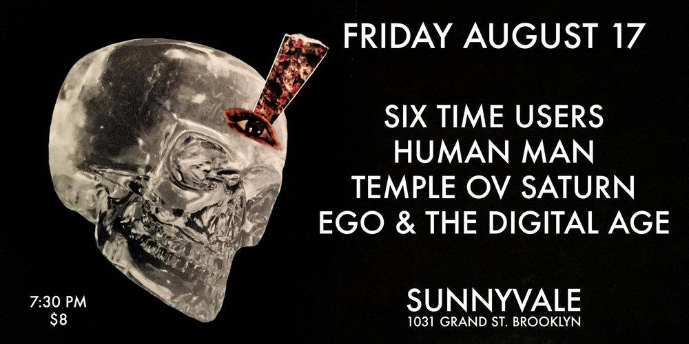 August 17 at Sunnyvale - Temple ov Saturn