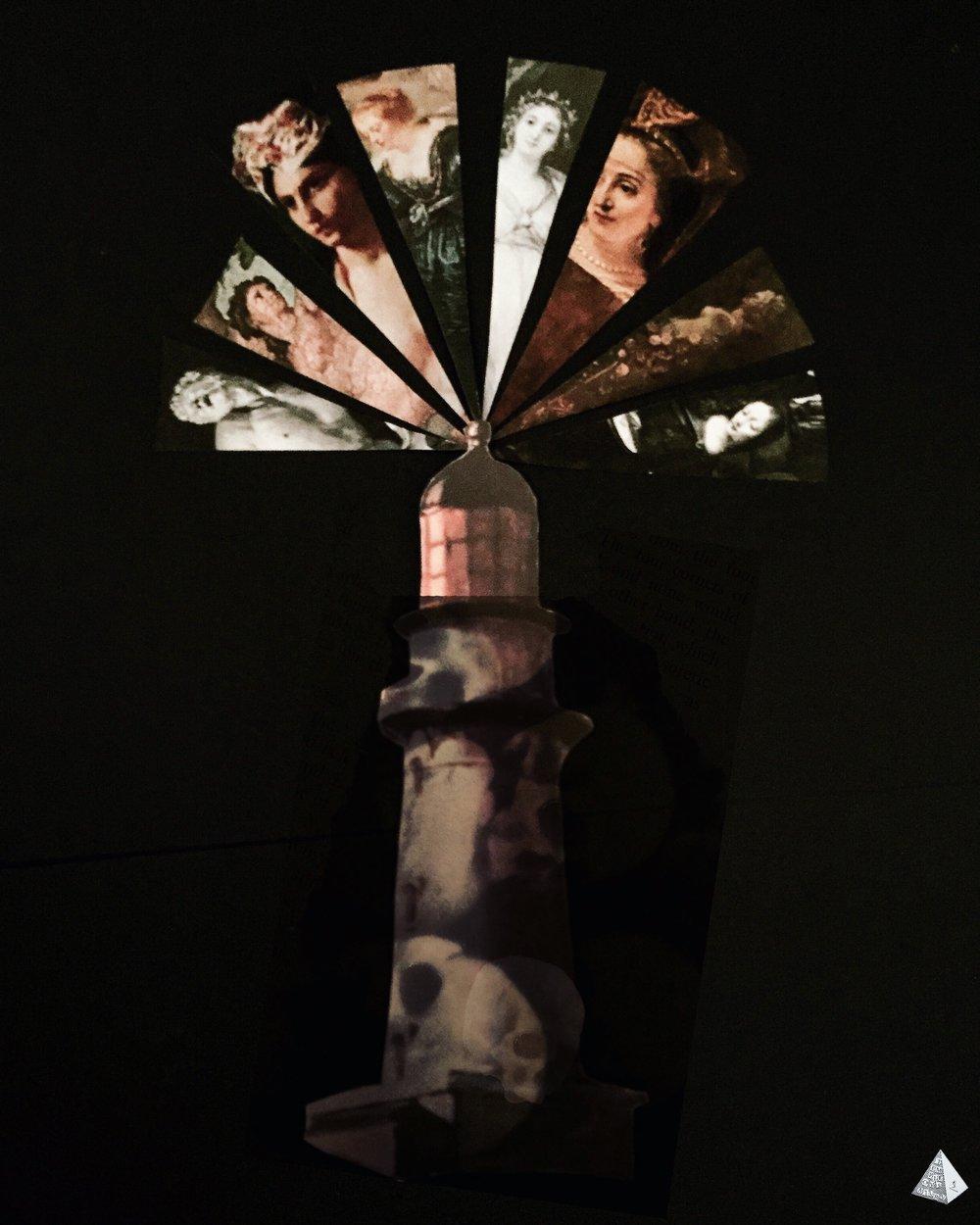 Les Fleurs du Mal: Les Phares by Joan Pope (Temple ov Saturn)