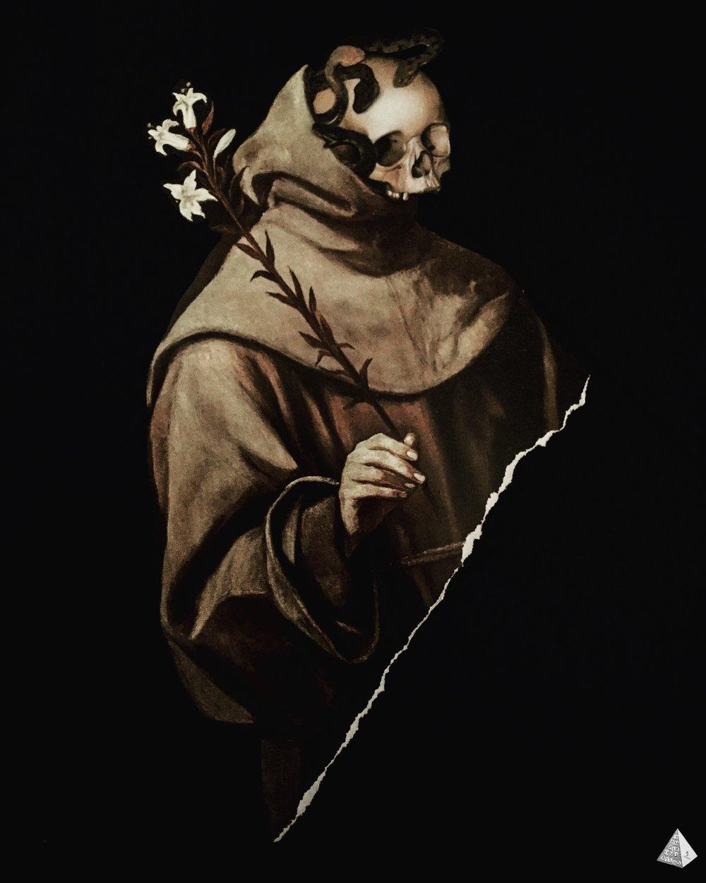 Les Fleurs du Mal: La Mauvais Moine by Joan Pope (Temple ov Saturn)