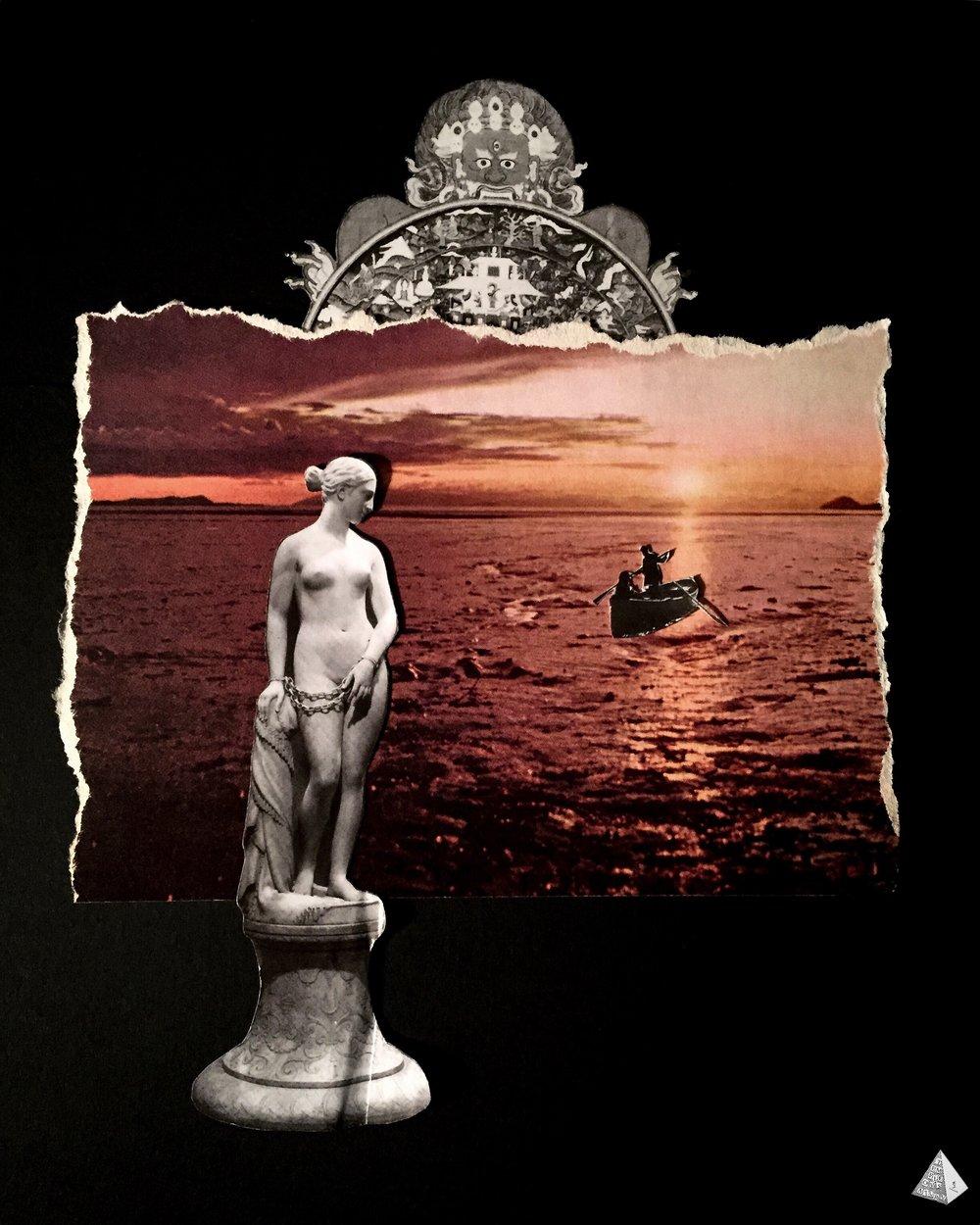 Les Fleurs du Mal: La Vie antérieure by Joan Pope (Temple ov Saturn)