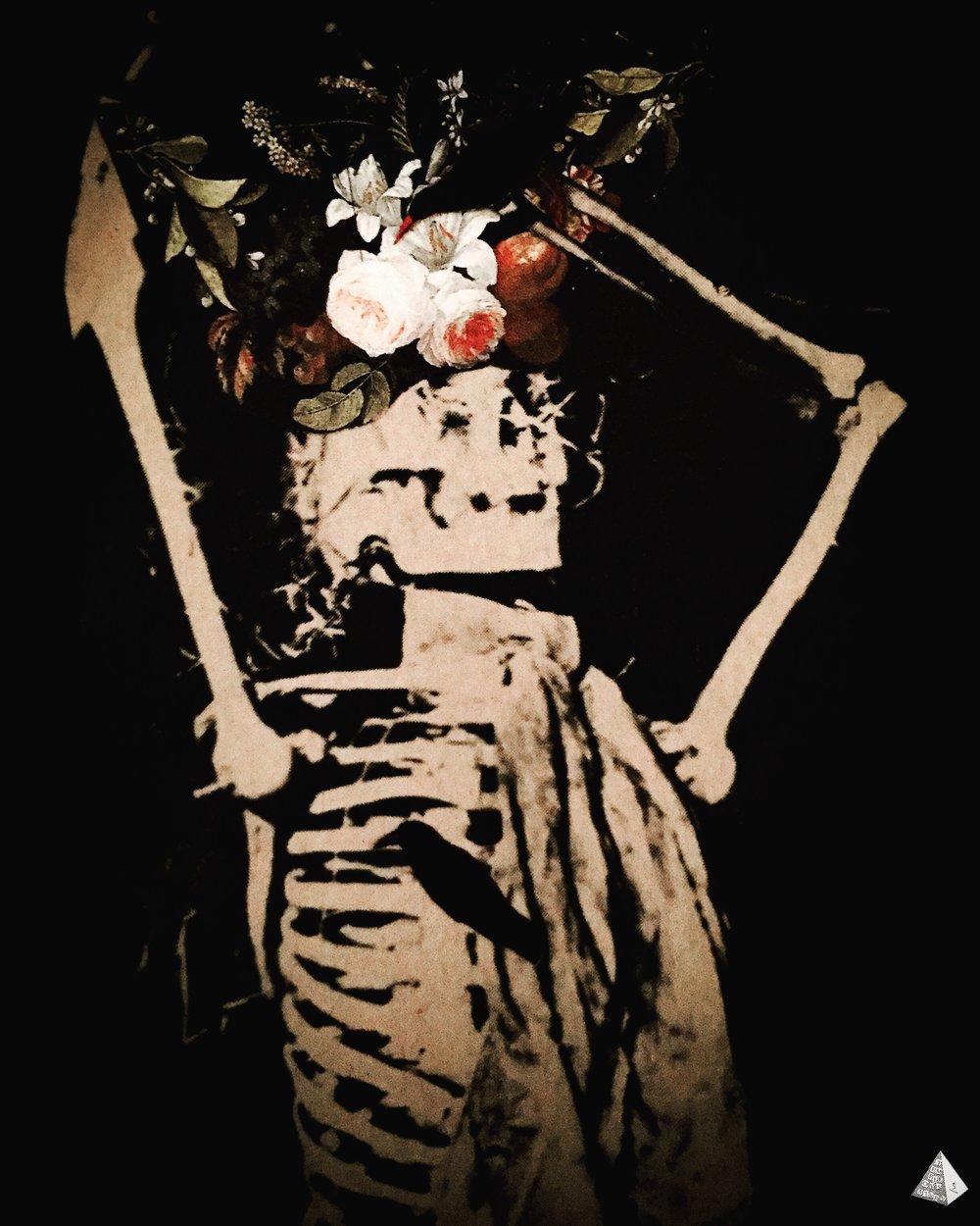 Les Fleurs du Mal: Le Mort joyeux by Joan Pope (Temple ov Saturn)