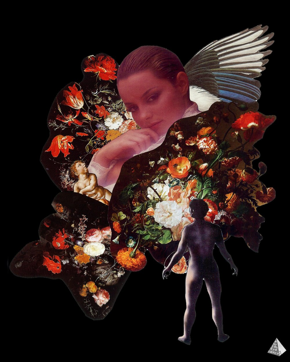 Les Fleurs du Mal: Que diras-tu ce soir by Joan Pope (Temple ov Saturn)