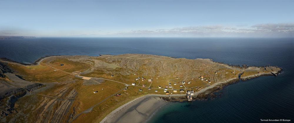 Hamningberg aerial © Biotope