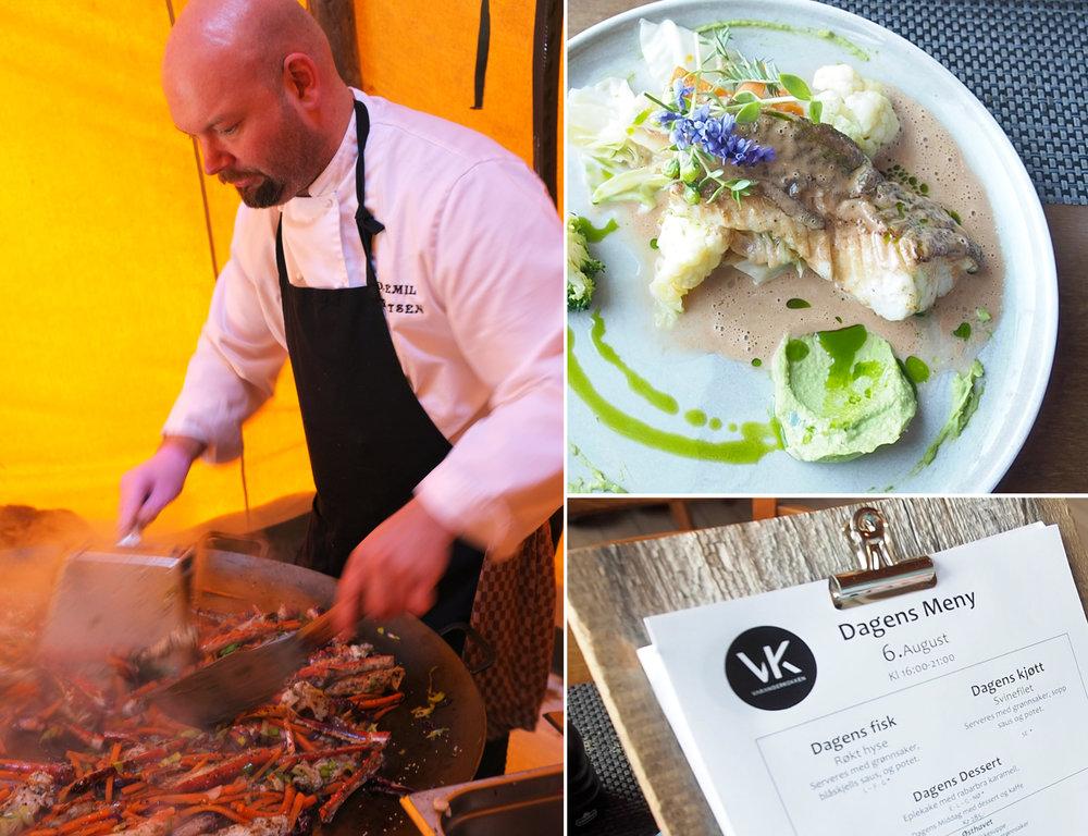 I Vardø finner du alt fra lokal gourmet-mat av lokale råvarer til asiatisk mat og enkel pubmat. Et besøk i Vardø smaker bra!