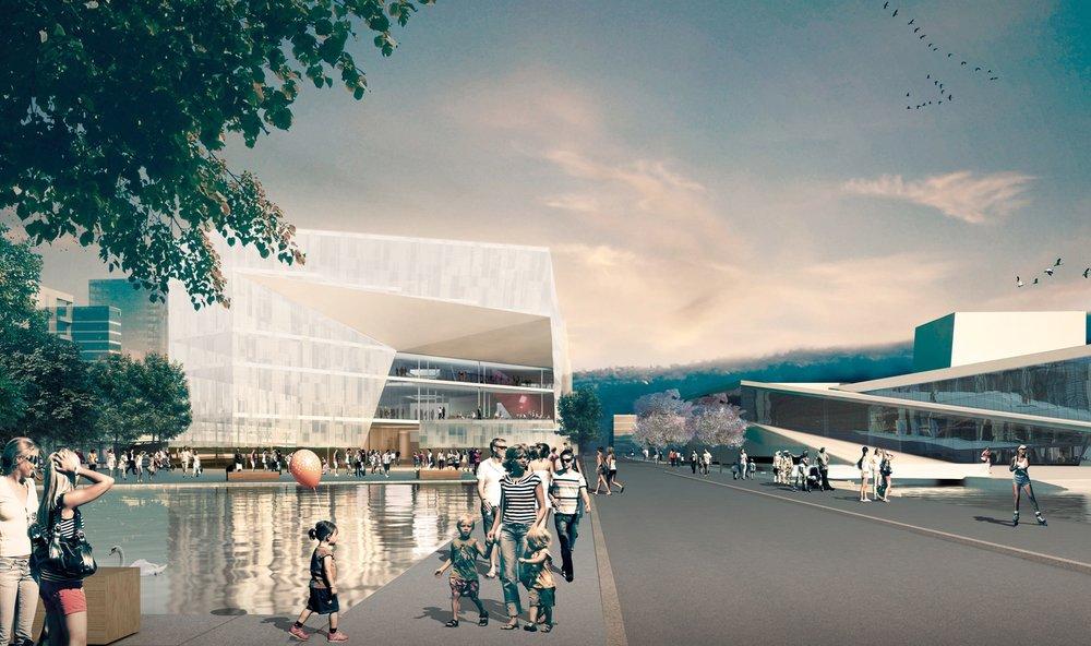 New Deichmanske bibliotek by Lund Hagem http://www.lundhagem.no