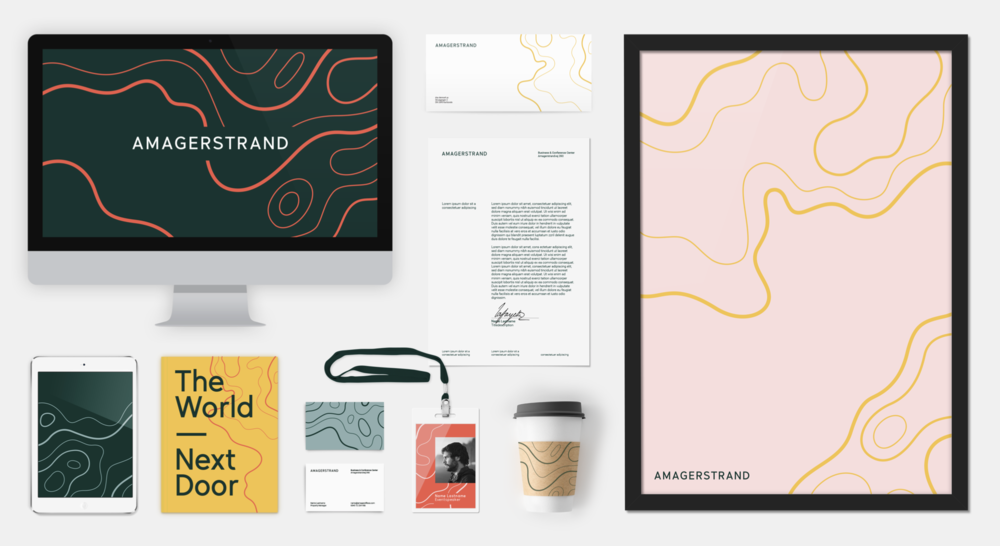 Amagerstrand  Visual Identity / Concept / Design