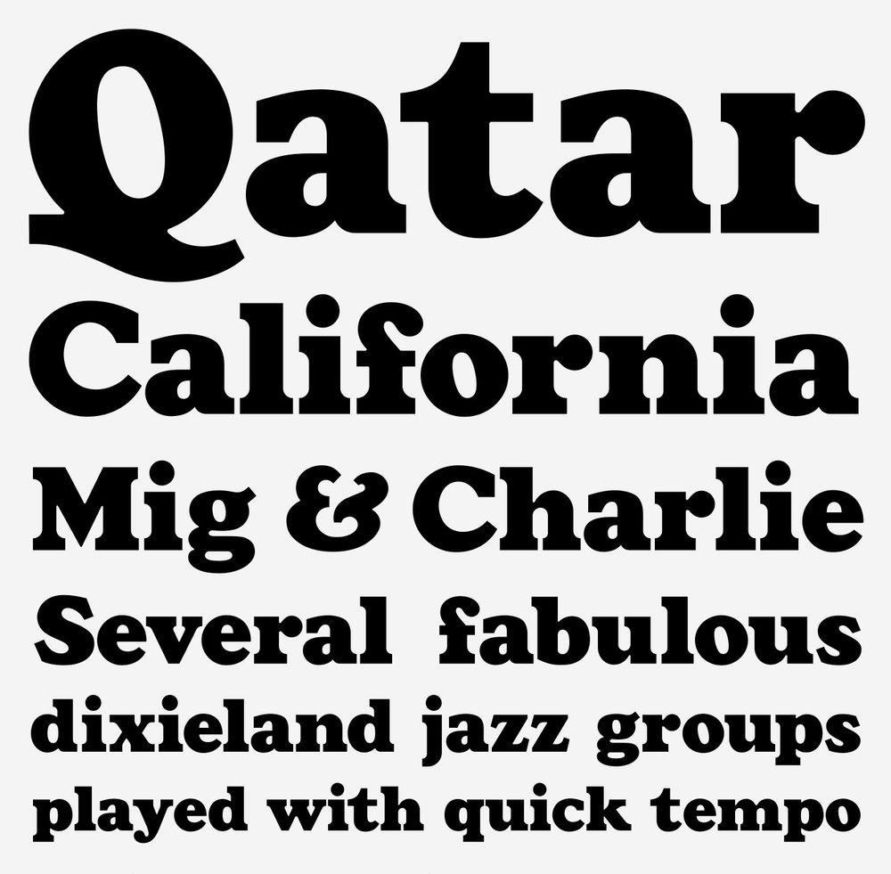 Dale Black  Type design / Display font  Specimen