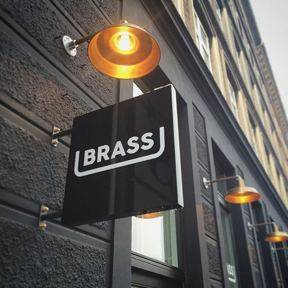 Brass Streetfood & Restaurant  Visual Identity / Signage System
