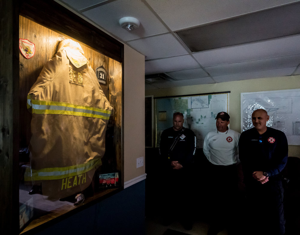 Firefighter's legacy lives on at Station 31