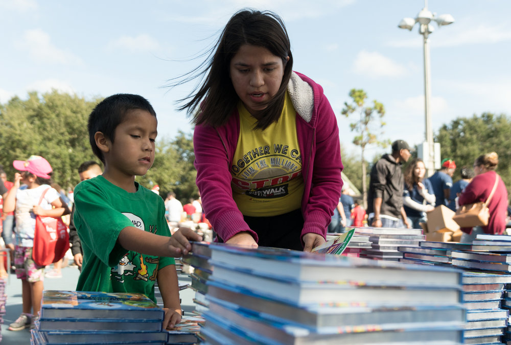First Book delivers free books in Immokalee
