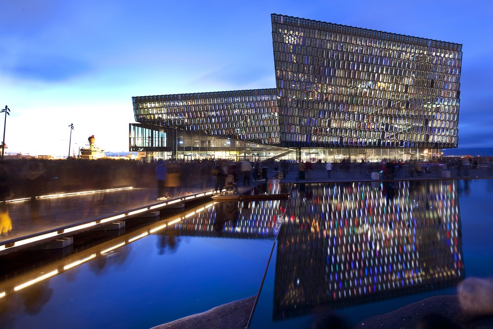 Photo courtesy of Harpa Convention Centre, Reykjavík, Iceland.
