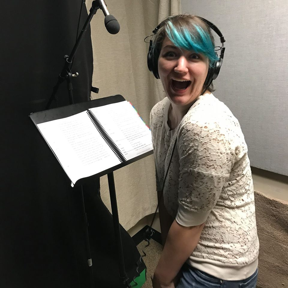 Hannah Glavin -   Violet    Hannah is a recent graduate from Liberty University.  She loves voice acting and has enjoyed bringing Violet to life for The Encounter.