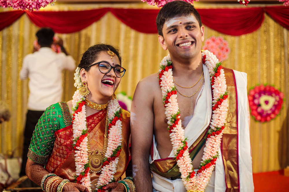 - Apurva MehtaWhen we were planning our wedding, Vineetha had suggested Roll on Two to capture our magic and madness. To be honest, I wasn't too sure of whether they'd be able to capture it the way I was visualising it.But Siva, Fahad and the entire team blew my mind! Loved everything they shot (from the wedding to the reception) and the final products we received. They put in a lot of hard work into capturing every little detail and it was very visible. Fahad's smile and Siva's enthusiasm rolled up into one powerhouse can create wonders. Even after one whole year, when I watch the video, I have goose bumps!These guys deserve all the goodness there is, and they definitely have the potential to become one of India's top wedding photographers.