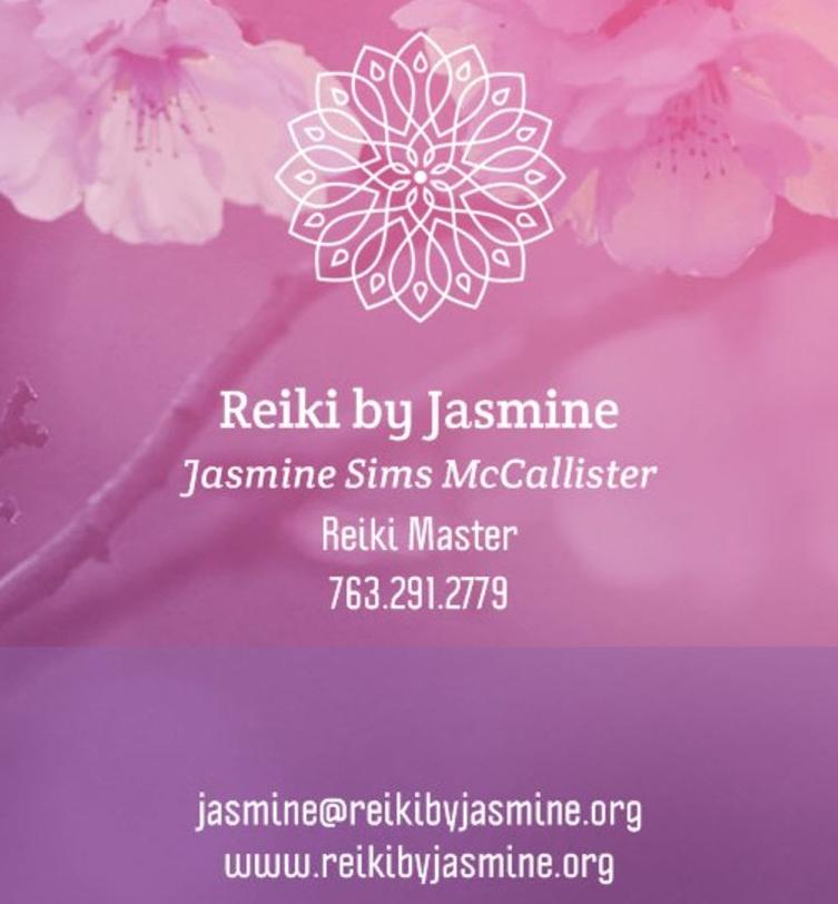 About — Reiki by Jasmine