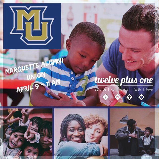 Hey all, we are going to be at @marquetteu next Tuesday, April 9 in the Alumni Memorial Union.  Come learn about our service and faith based learning experiences here in Milwaukee!  You can select a summer, semester of year experience.  Looking forward to seeing you next Tuesday!  #marquette #faithandservice #gapyear #explorethegapyear #service #volunteer #community #faith #love #justice #issues #summerofservice #milwaukee