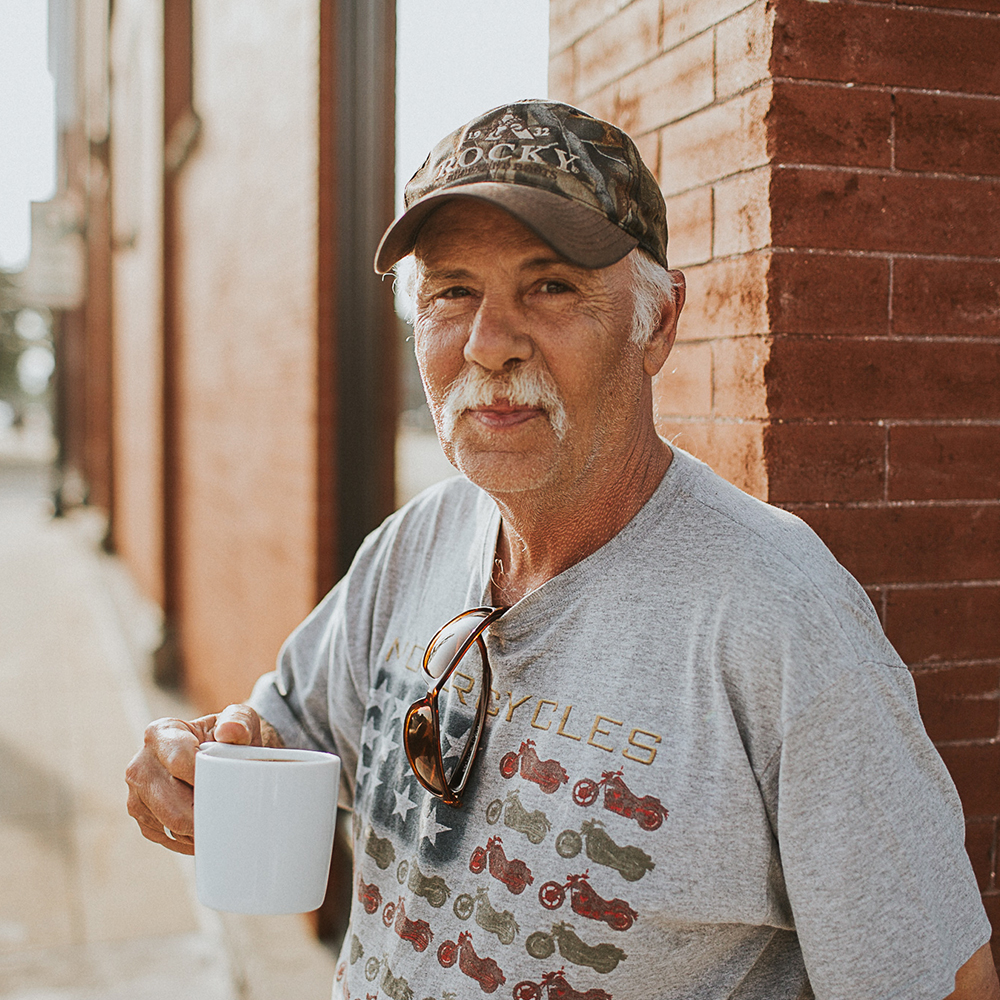 Meet George - One of our fave regulars. He's heading back to his home in Hillsdale today for a short time and we're gonna miss his kind face in the shop until he gets back. George's order: black coffee with a generous amount of simple syrup.
