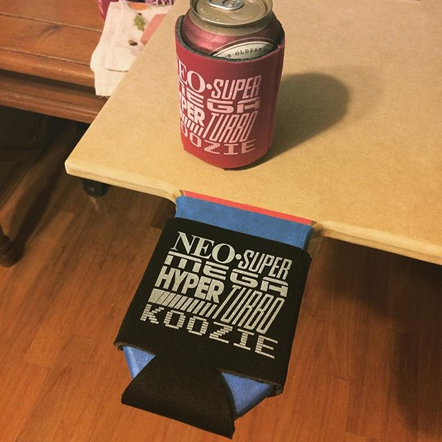 The other end of my custom pallet! Printing koozies is a breeze now :D - - - #diy #woodworking #screenprinting #koozie #gettingitdone