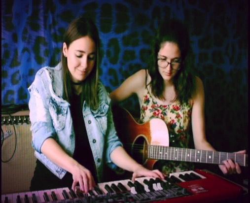 🎶🎶🎶 #sistertime #musicianlife #atx #nordelectro #acousticguitar #songwriting