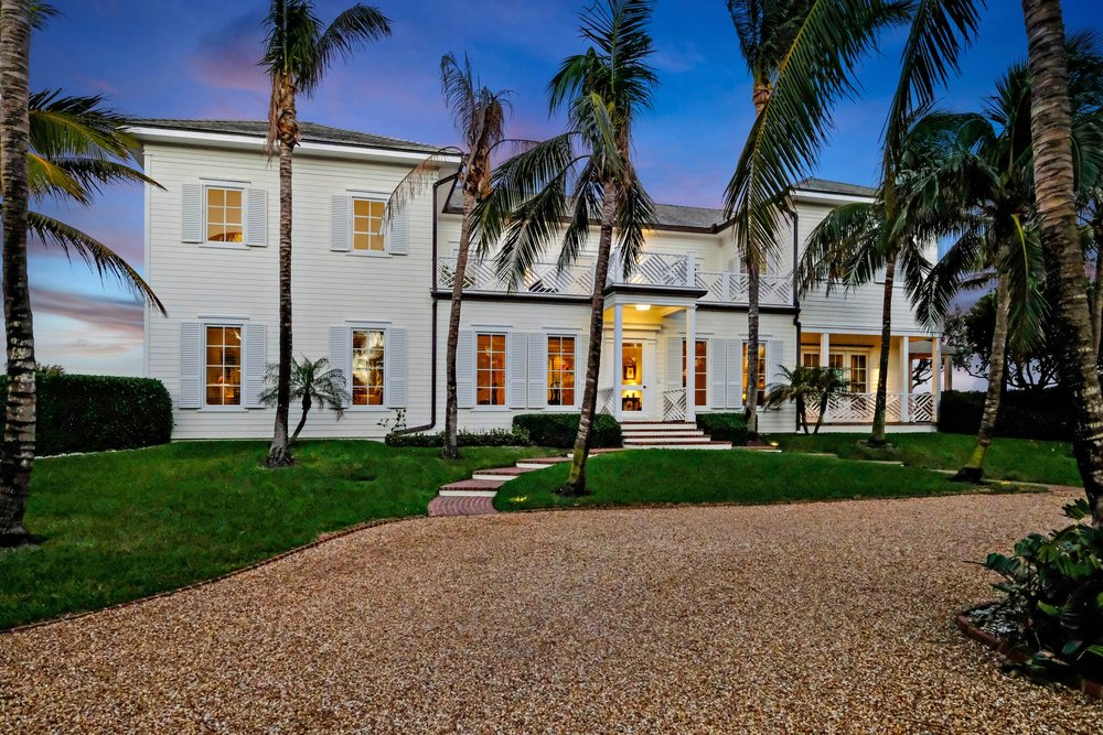 Traditional Oceanfront Property - Jupiter Island