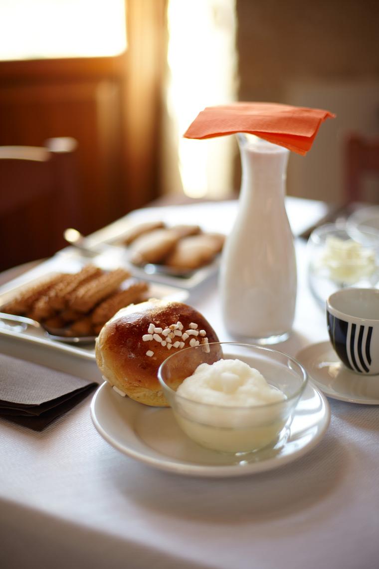 Travel Ragusa Sicily Italy Dining Breakfast Sorbet