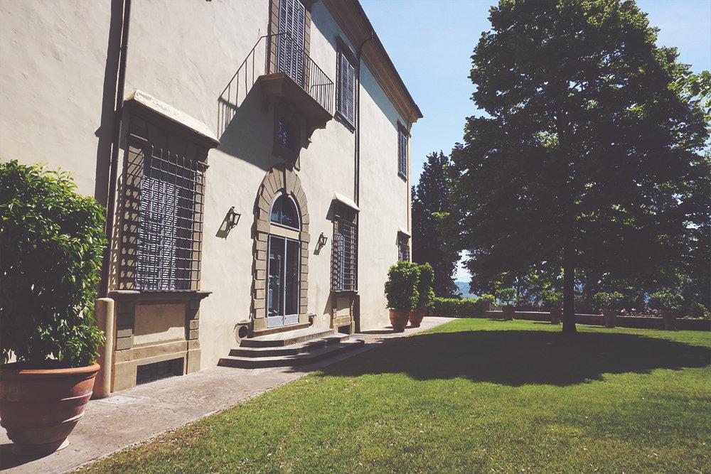 Villa Castiglioni dei Marchesi Frescobaldi.