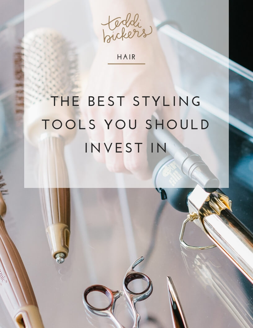 The best styling tools for your hair to invest in.