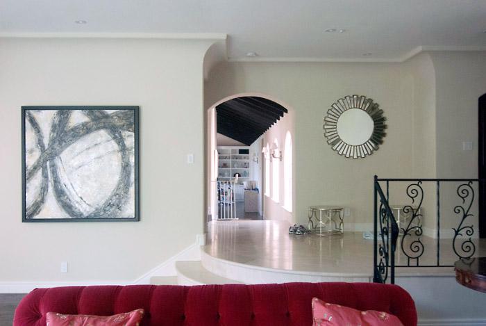Paradise Drive, Tiburon (living room)