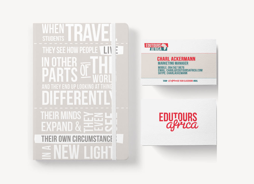 Edutours Africa Branded Stationary