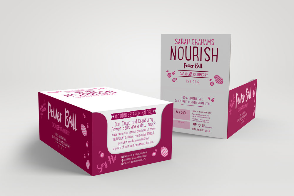 Sarah Graham Logo and Packaging design