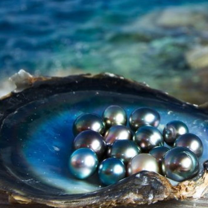 Tahitian Pearl - Spiritually, pearls sooth and heal the negativity and struggle in our life.  They surround negative energy with light and, are thought to create innocence. They heal our negative inner voice and subconscious.
