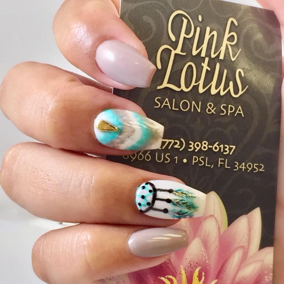 Pink Lotus Salon & Spa - love Susan and her team!! They are sweet and take extra time to make you feel comfortable and cared for. I have been going here for 3 years and have always had a great experience and my nails are always perfect!!! They listen to your needs and wants and give you what you came in for. I won't go anywhere else!! -  Facebook Reviewer