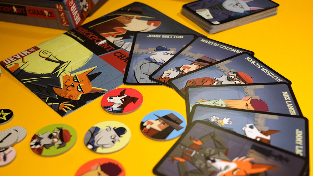 Checkpoint Charlie card game