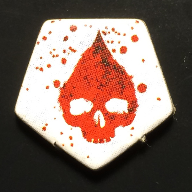 Dead of Winter: The Long Night Wound Marker Token