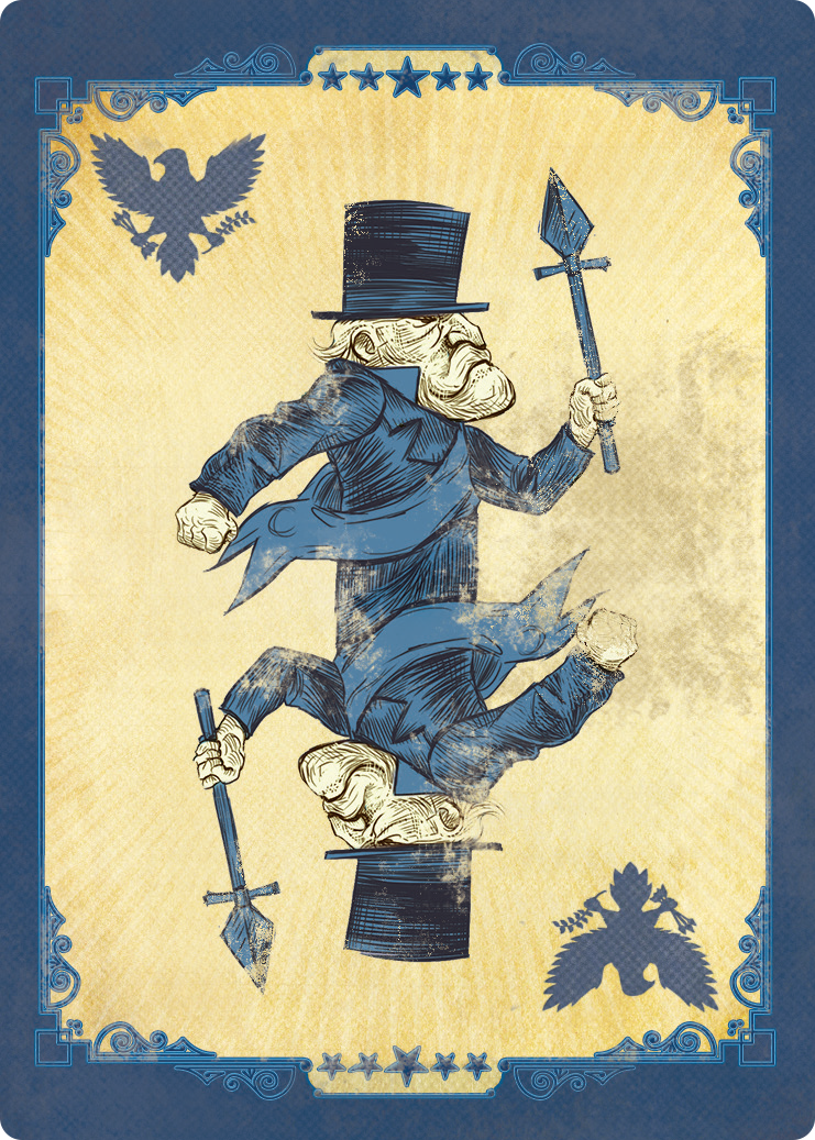 Bioshock Infinite board game card