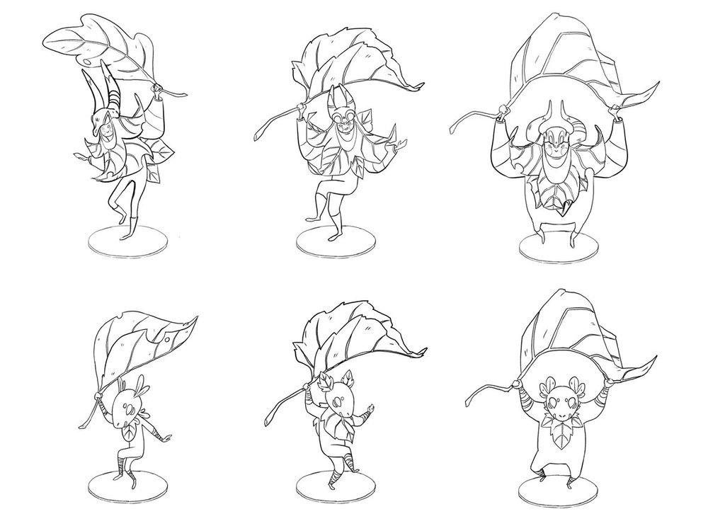KIWETIN Character Designs